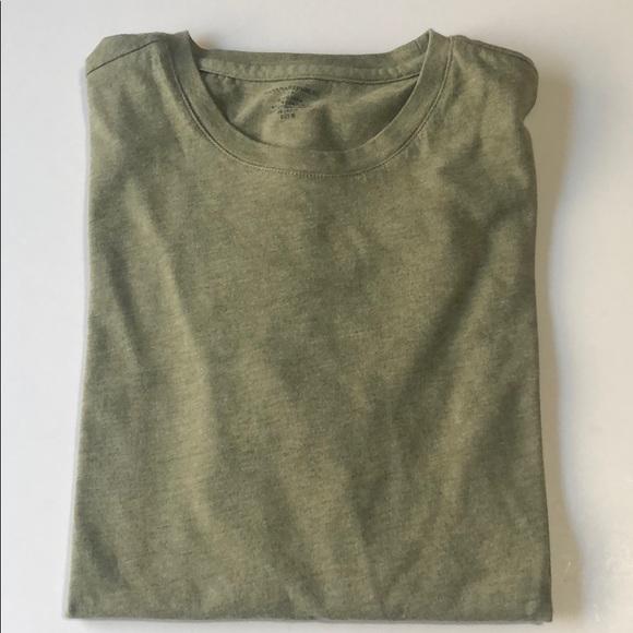 Men's Banana Republic Green Short Sleeve Shirt